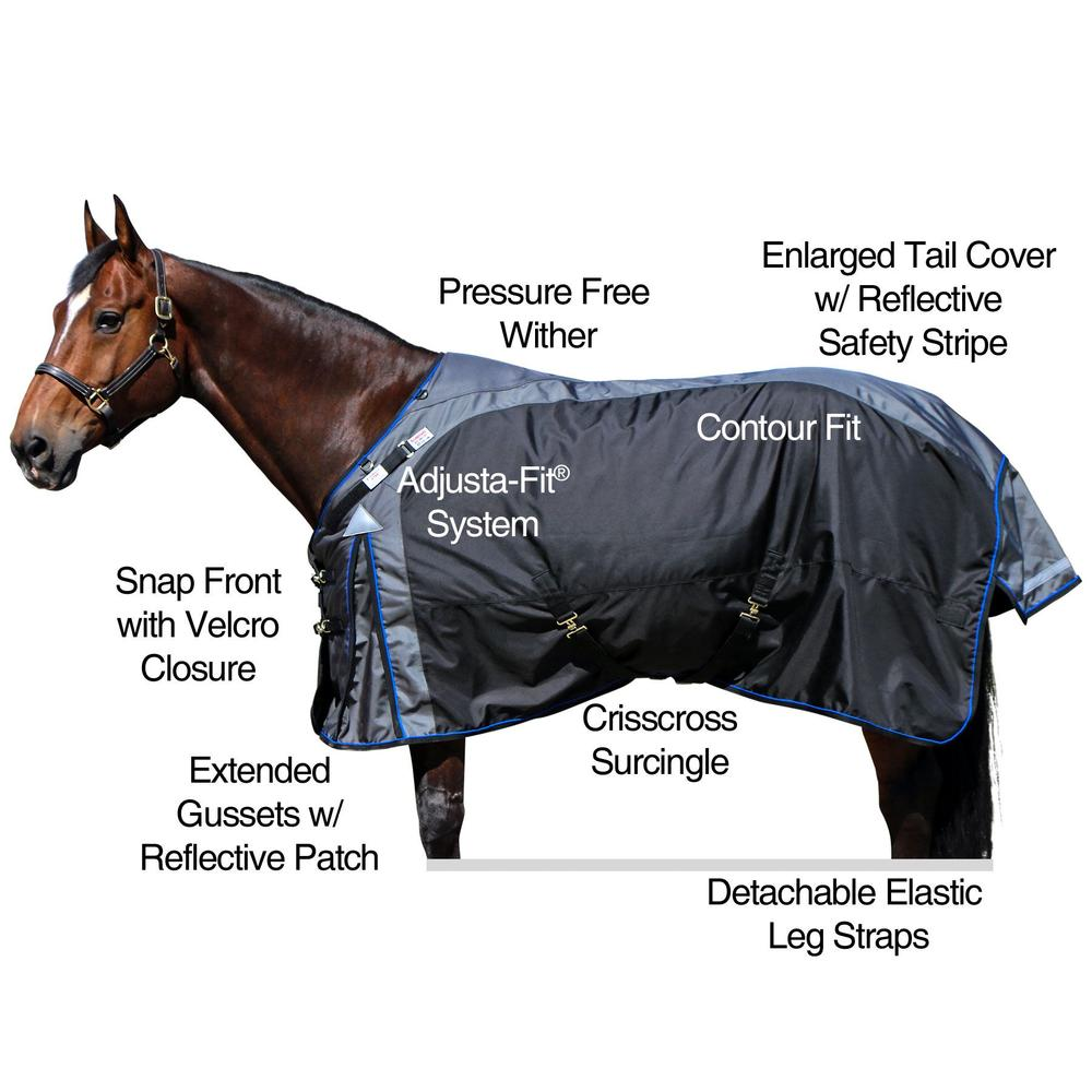 2017 StormShield® VTEK® Dublin Surcingle Turnout Blanket - Midweight