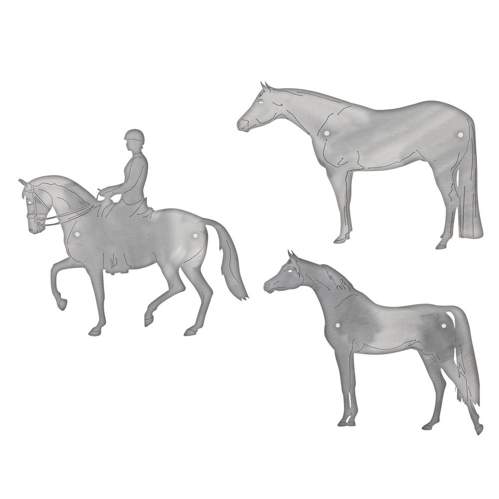 Etched Horse Stall Plates