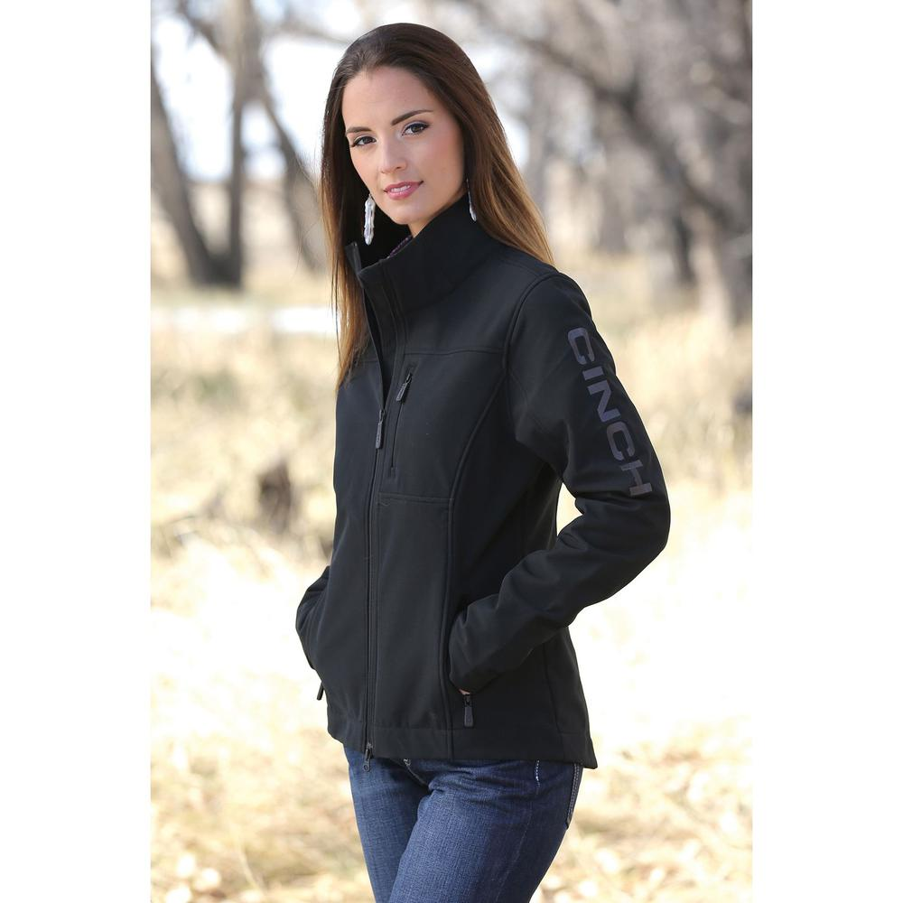 Cinch Ladies Softshell Conceal Carry Jacket