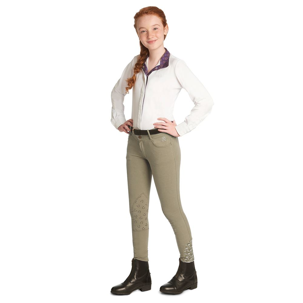 Ovation® Children�s Candace Knee Patch Breeches