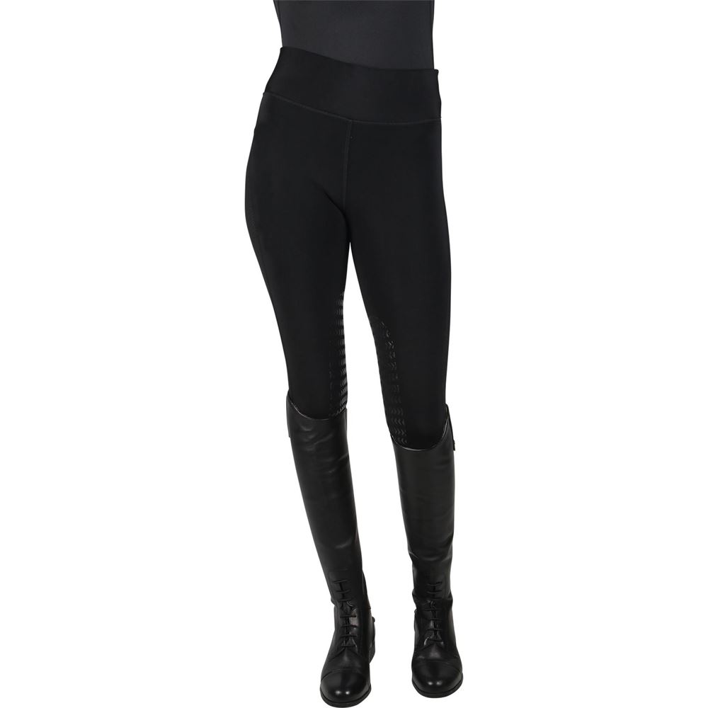 Ariat Ladies Diana Insulated Black Riding Tights