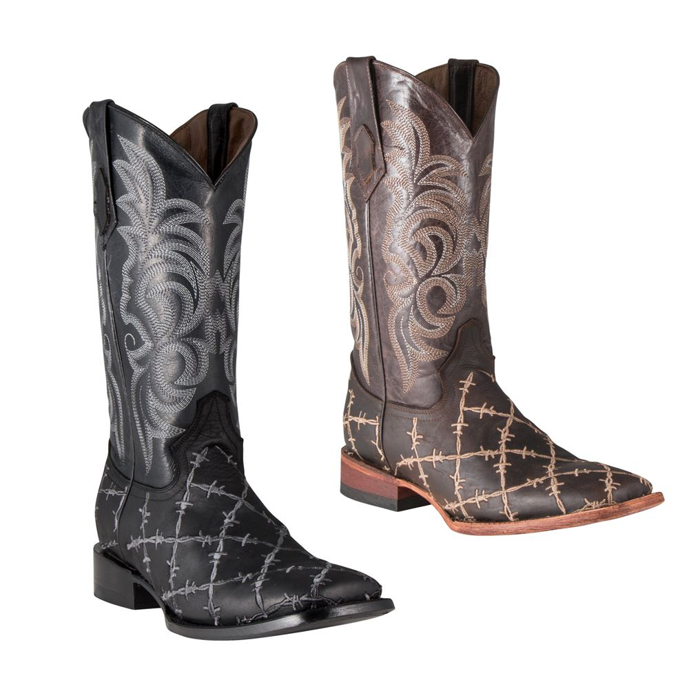 Ferrini Men�s Barbed Wire Western Boots