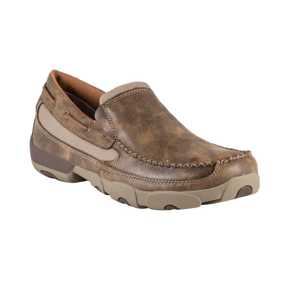 Twisted X Men�s Slip-On Driving Moccasin