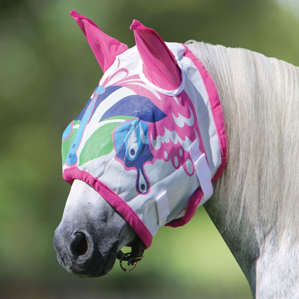 Dura-Tech® Butterfly Fly Mask with Ears
