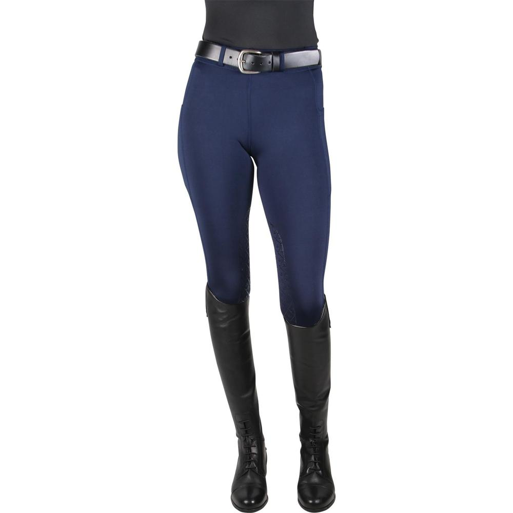 Ovation® Ladies Aerowick™ Silicone Knee Patch Tights
