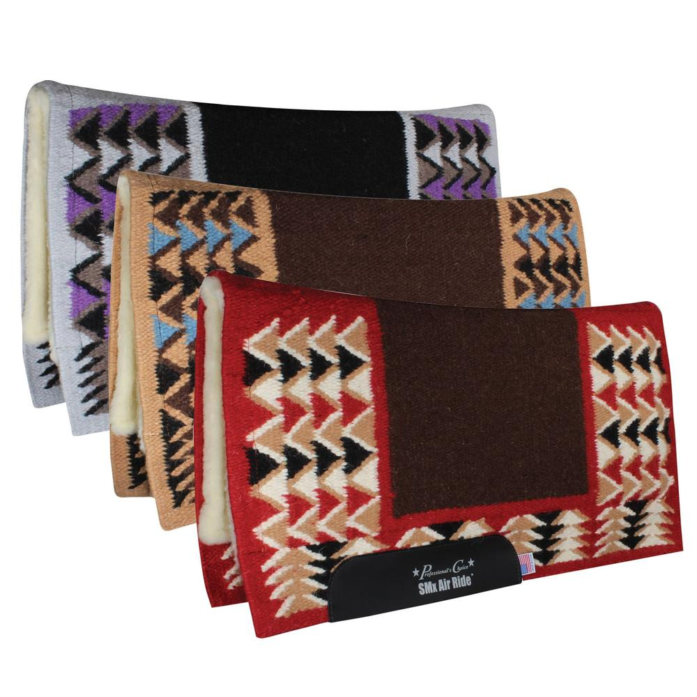 Professional�s Choice® Comfort-Fit SMx Air Ride™ Barona Western Saddle Pad