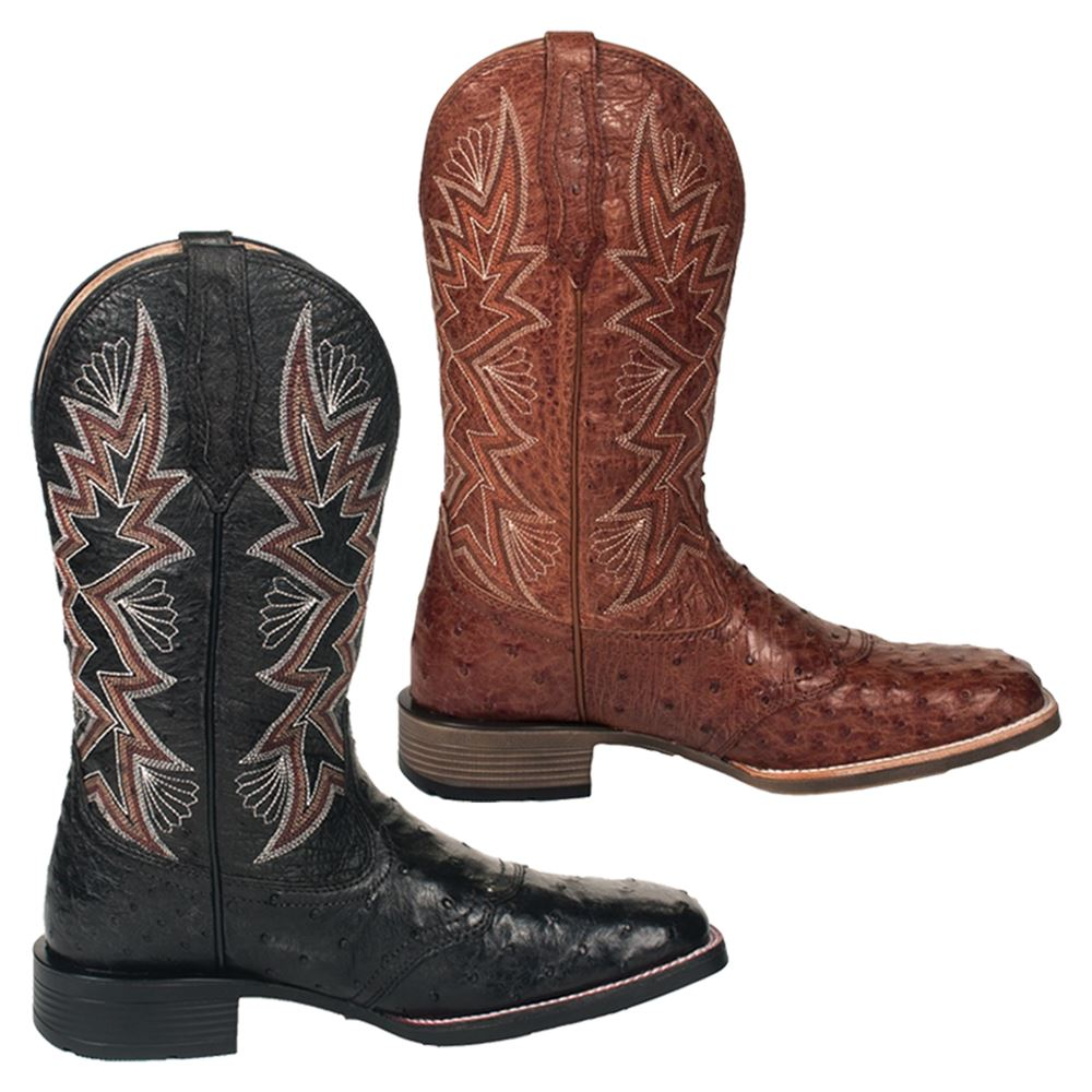 Noble Outfitters™ Men's Ostrich All Around Square Toe Duke Western Boots