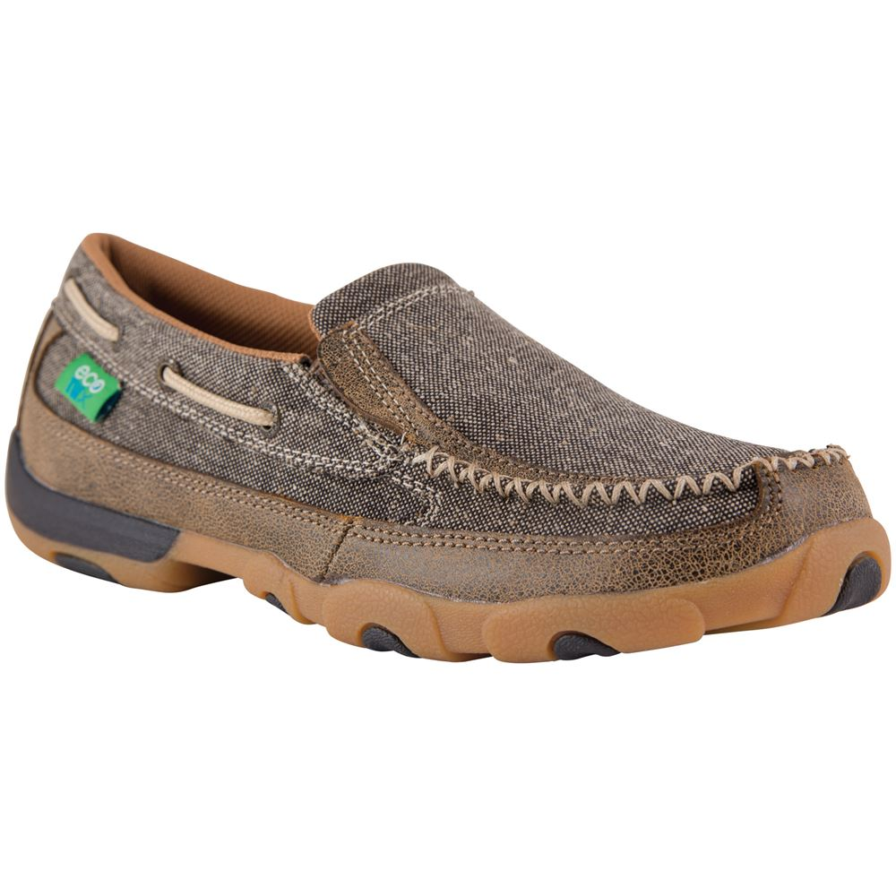Twisted X Women�s ECO TWX Slip-On Driving Moc