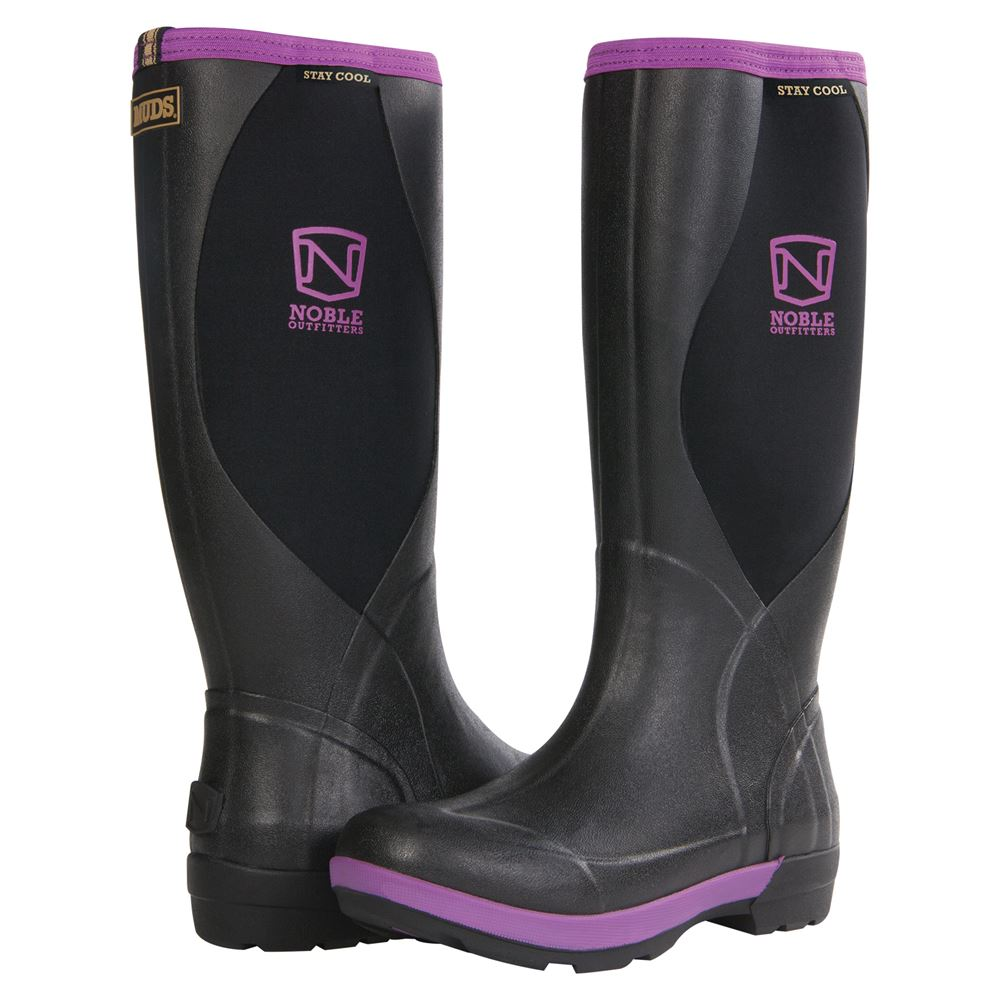 Noble Outfitters™ MUDS® Stay Cool Women's High Boots - Blackberry