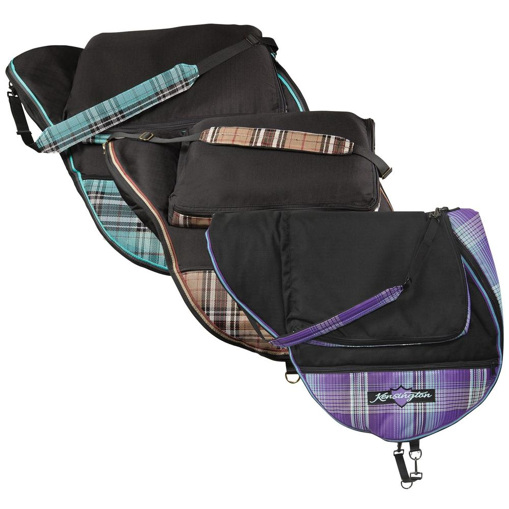 Kensington Signature All Purpose English Saddle Carrying Case with Pad Storage