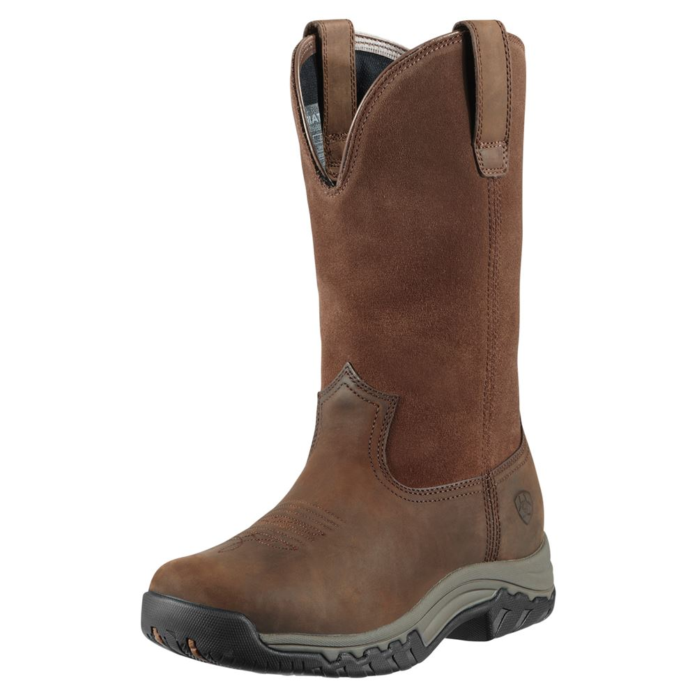 Ariat Women�s Terrain Pull-On Waterproof Western Boots