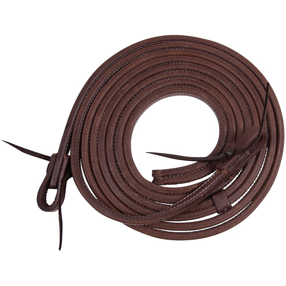 Billy Royal® Oiled Hermann Oak Double and Stitched Leather Split Reins