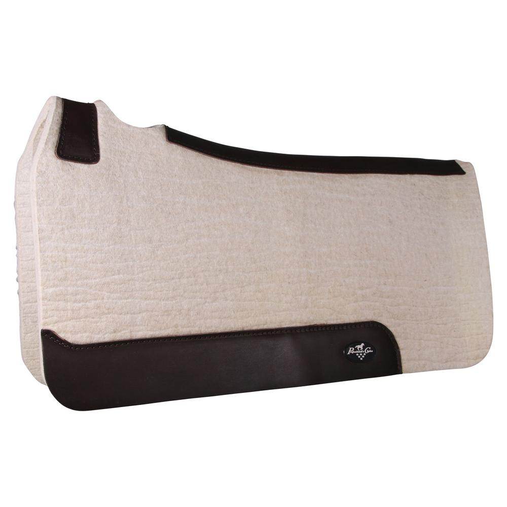 Professional's Choice® Comfort-Fit Steam Pressed Felt Western Saddle Pad
