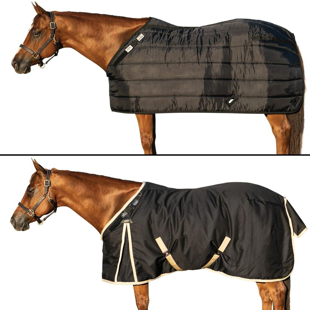ARMORFlex® Challenger V-Free® Fit Closed Front Medium Weight Turnout Blanket Bundle- Surcingle
