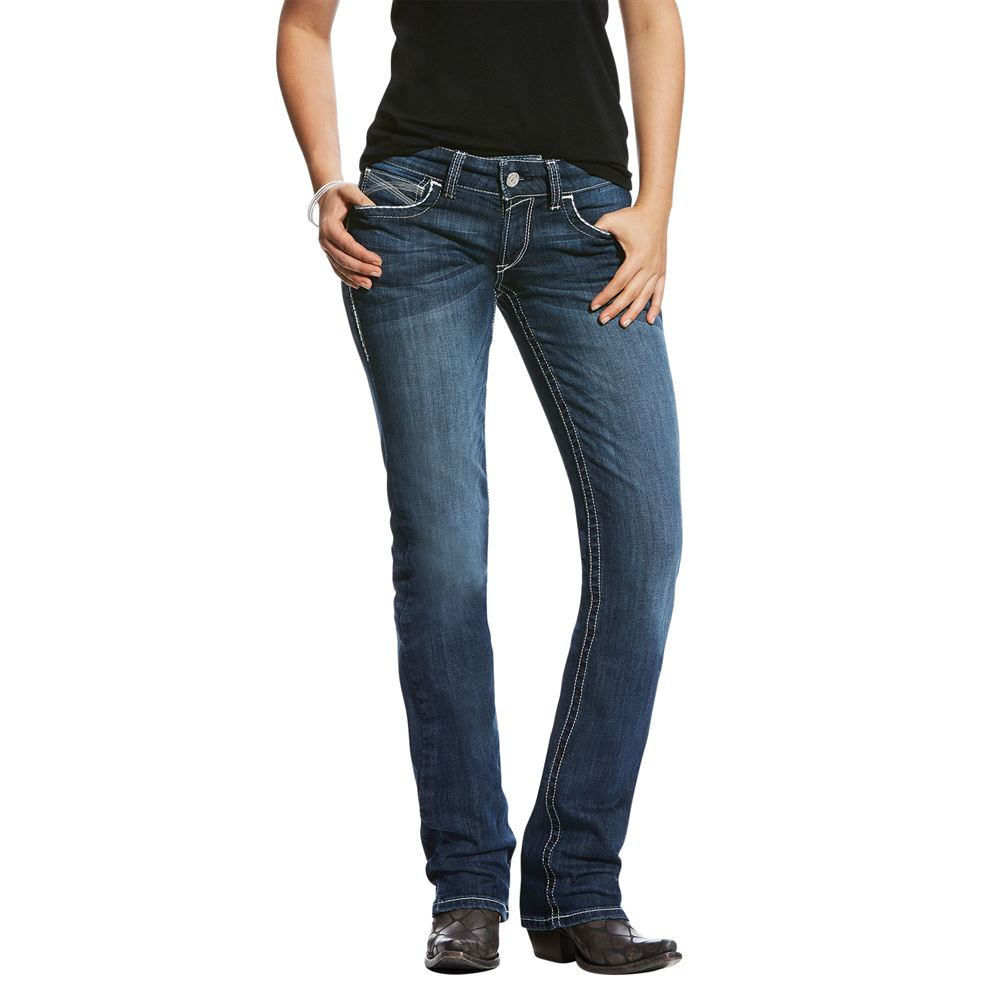 Ariat R.E.A.L.™ Mid Rise Stretch Ivy Stackable Straight Leg Jeans