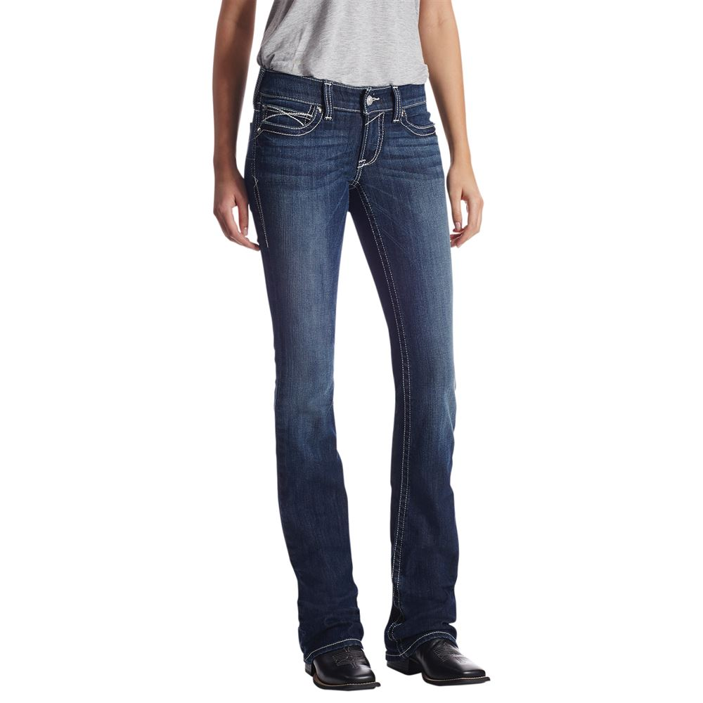 Ariat® Ladies Real Rosey Whipstitch Boot Cut