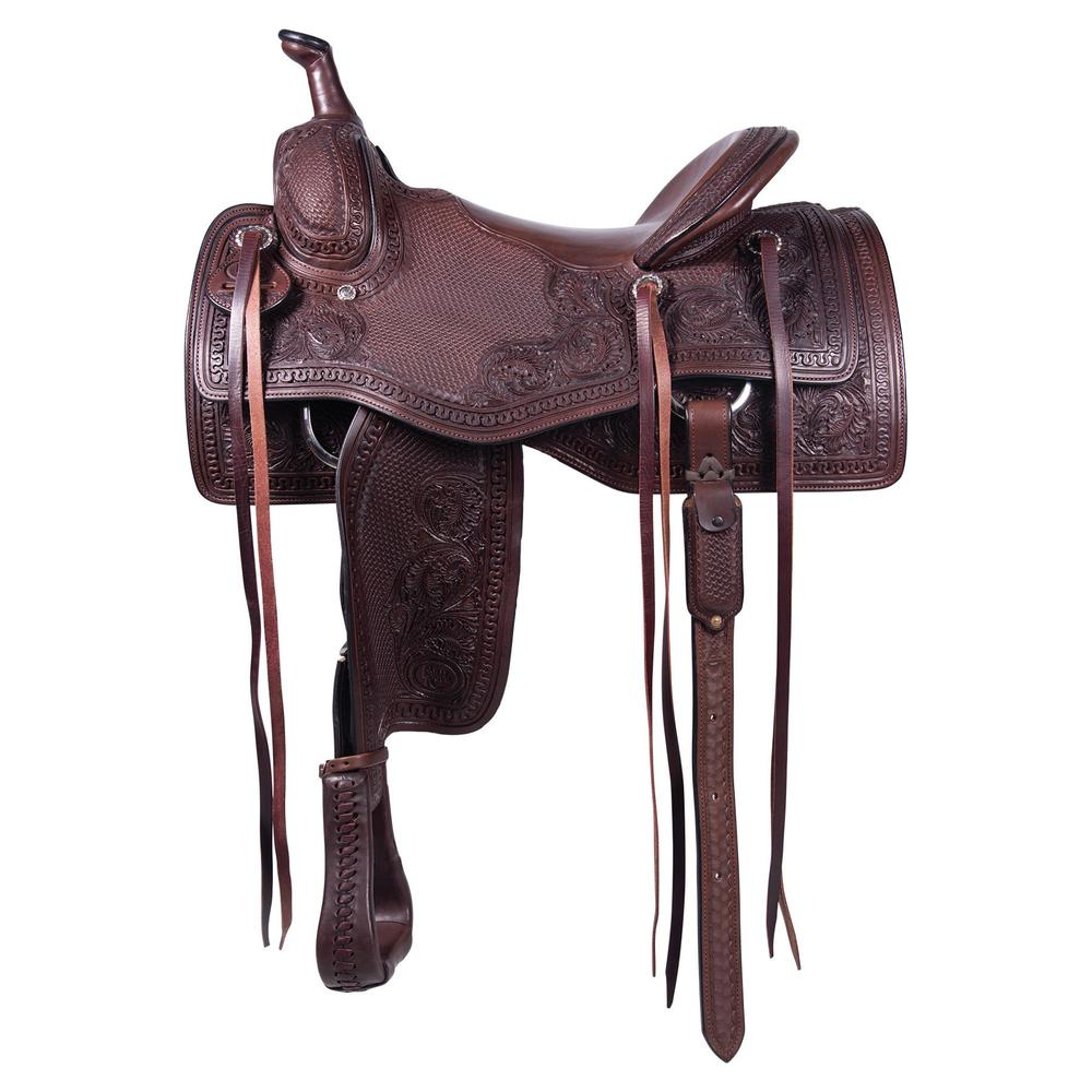 Billy Royal® Grizzly Ranch Western Saddle