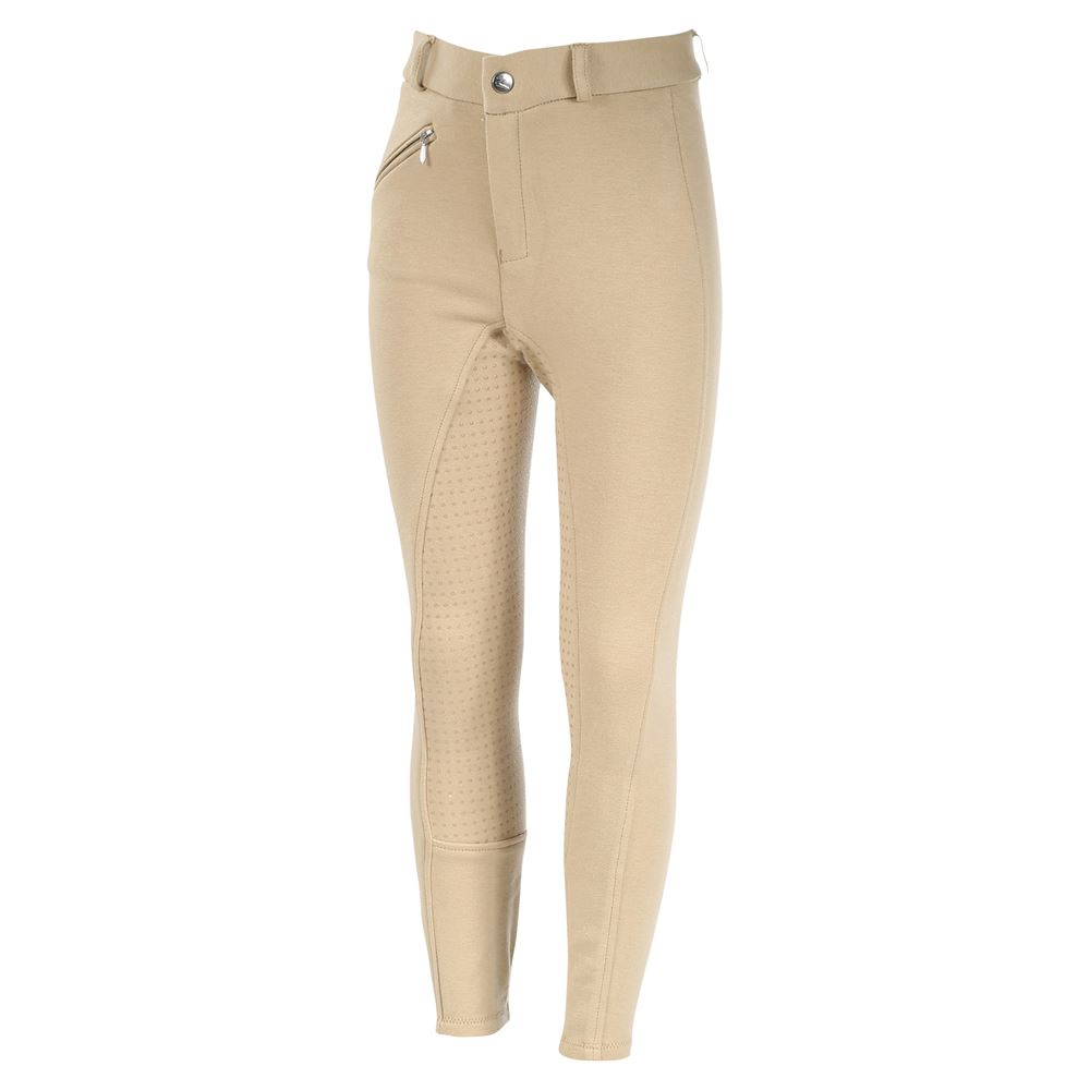 Horze® Kid's Active Silicone Grip Full Seat Breeches