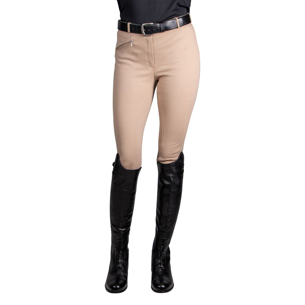 Horze® Women's Active Silicone Grip Full Seat Breeches