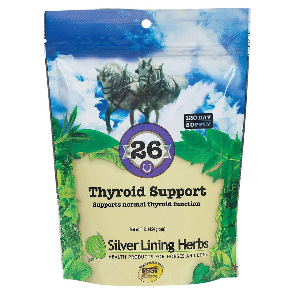 Silver Lining Herbs #26 Thyroid Support Supplement