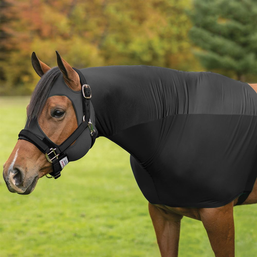 UltraFlex® Forelock Saver Hybrid Lycra/Mesh Pull-On Slicker Hood