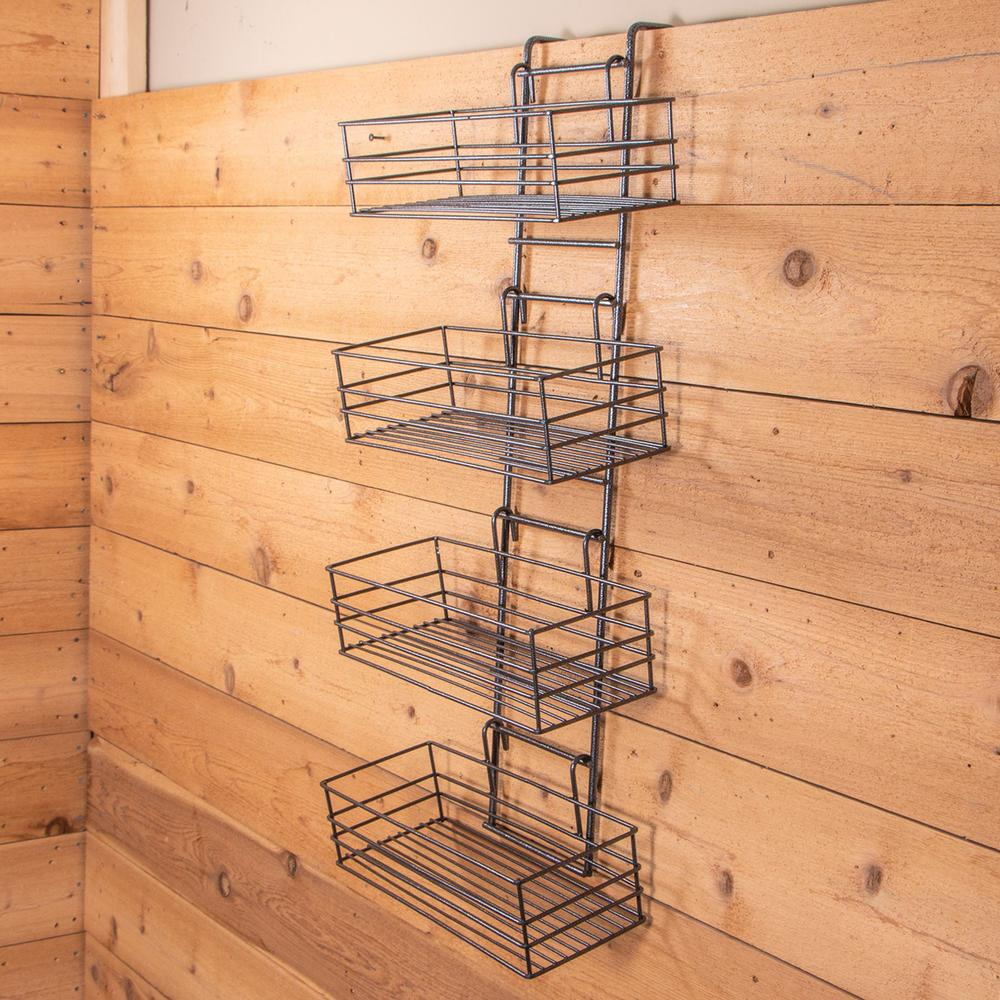 Easy-Up Wide Basket Groom Room Rack
