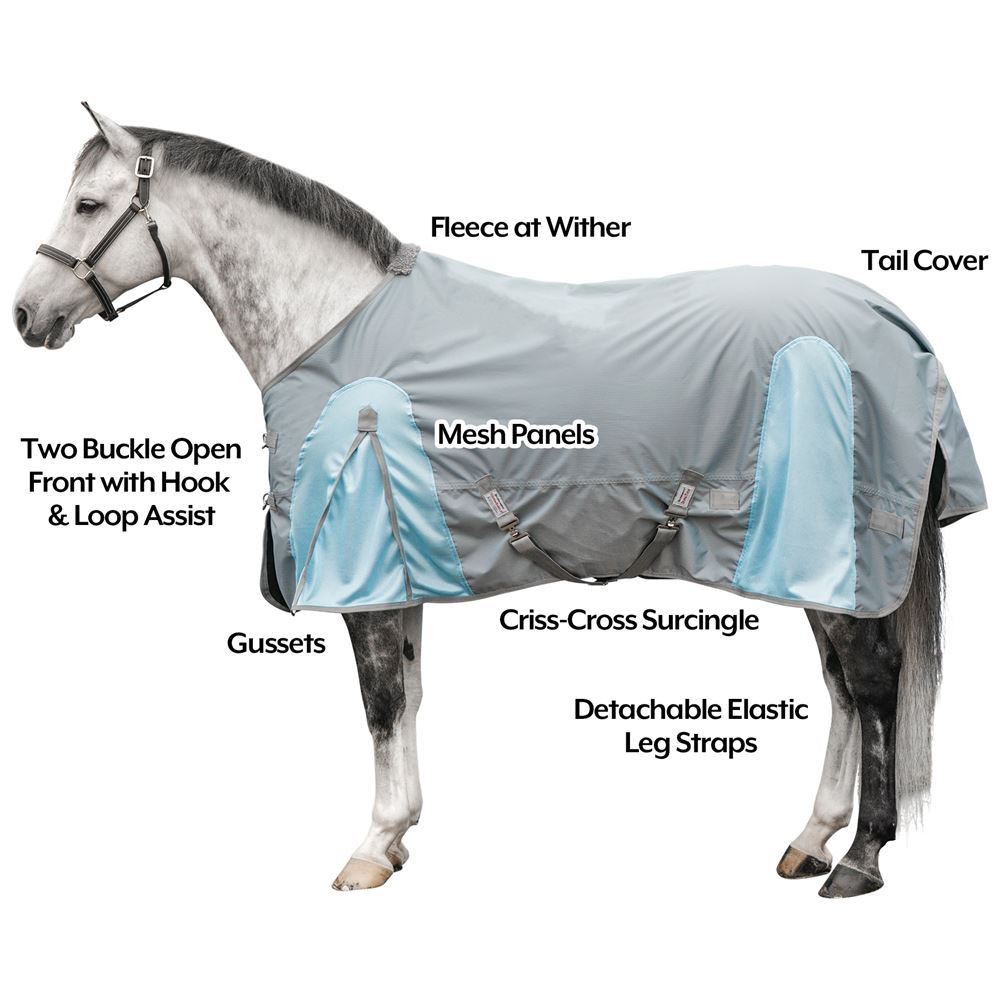 Dura-Tech® Airmesh Summer Turnout Sheet
