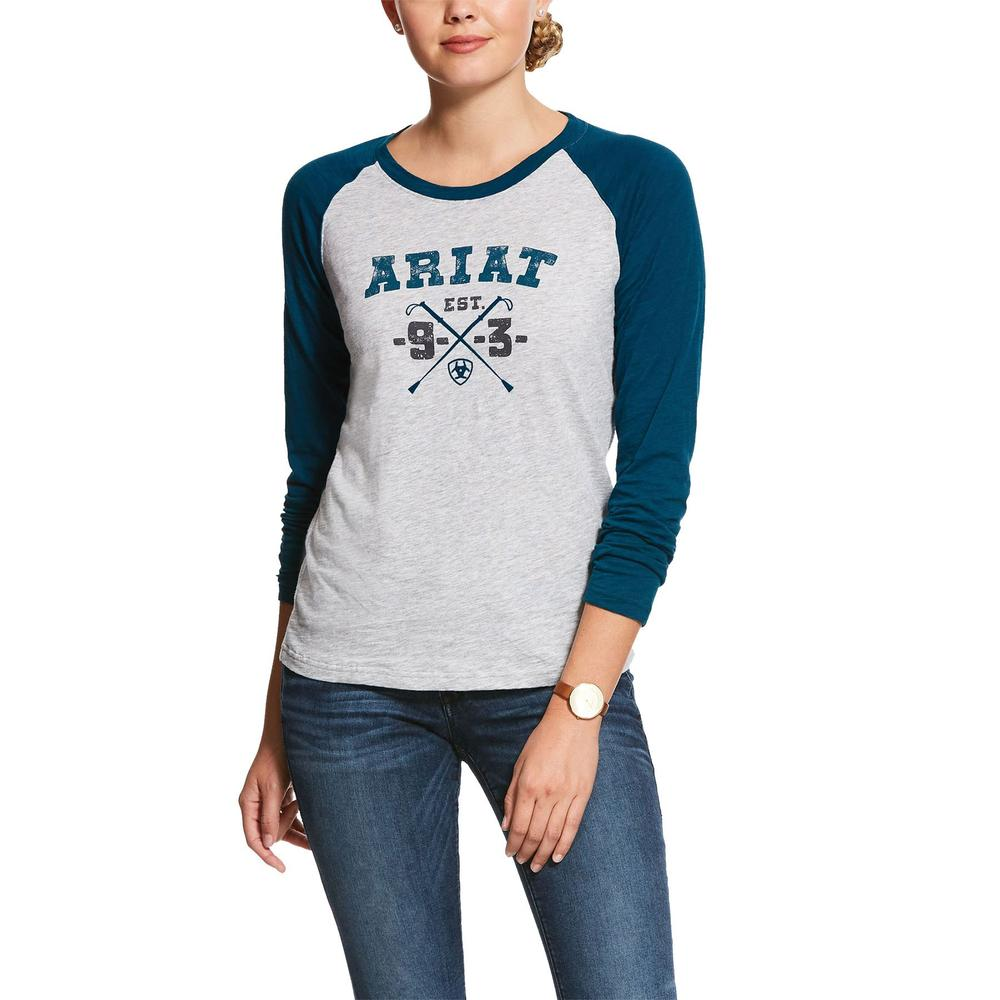 Ariat® Ladies Whips Logo Tee