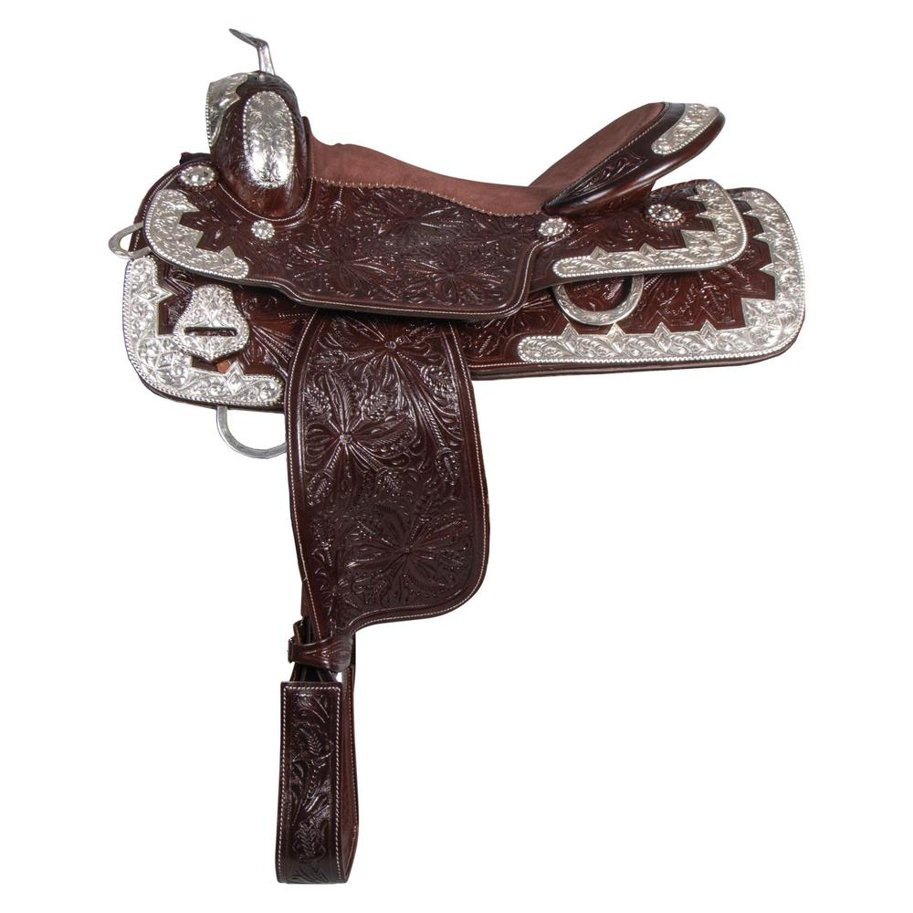 Double S Diamond Show Saddle