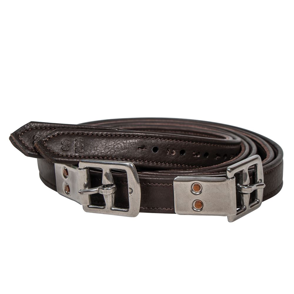 PINNACLE SOFT RIVETED BUCKLE LEATHERS 60