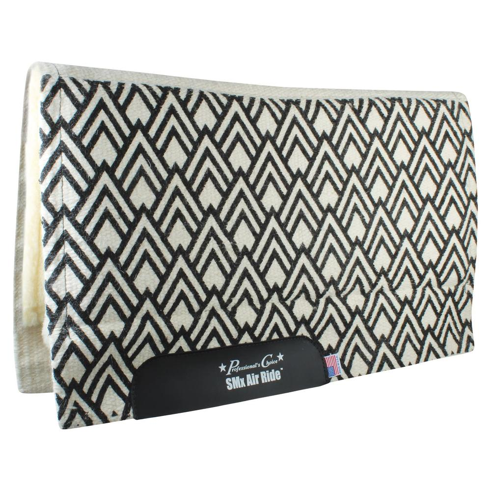 Professional's Choice® Comfort-Fit SMx Air Ride™  Chevron Western Saddle Pad