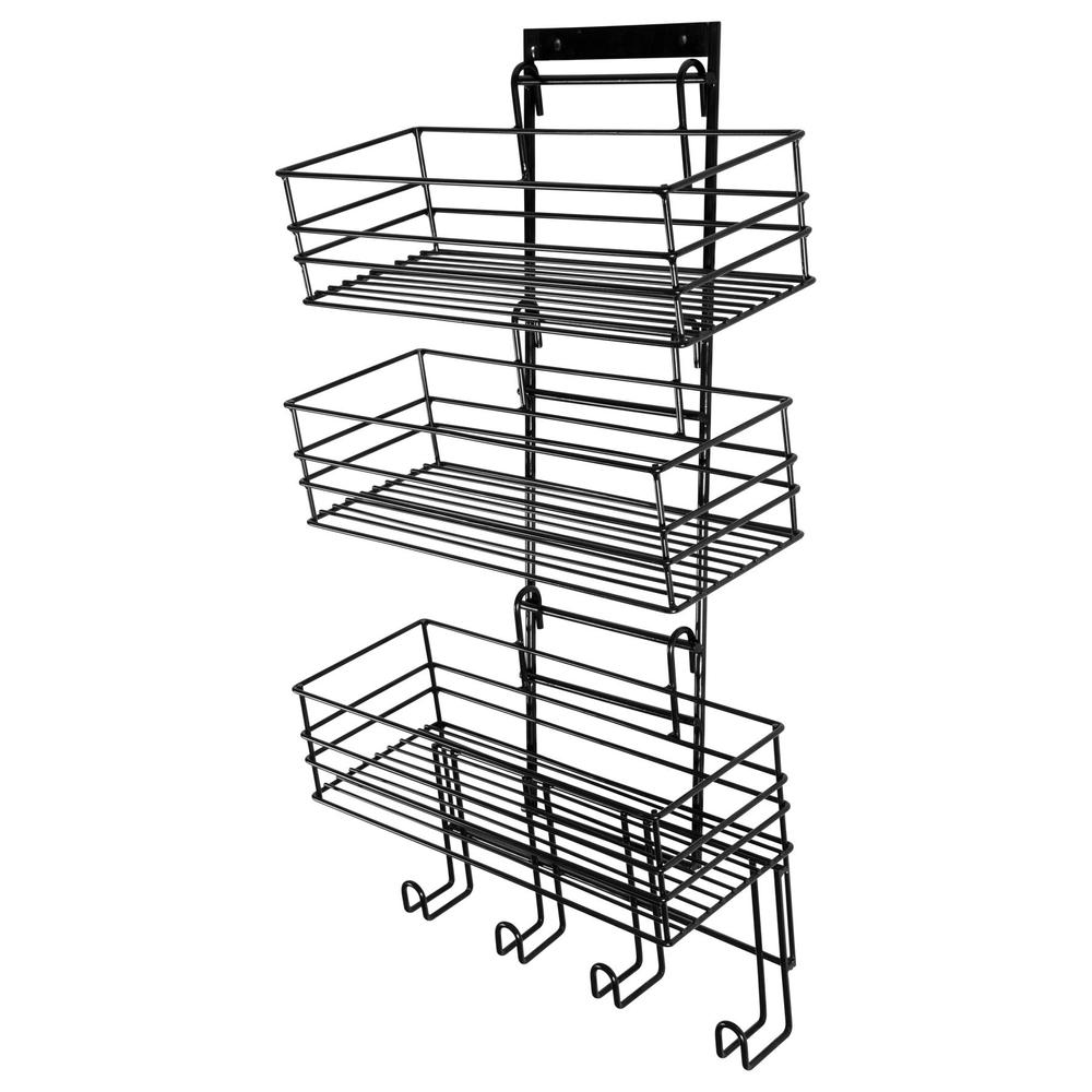 Easy-Up® Mounted Wide Groom Room Rack with Tack Rack