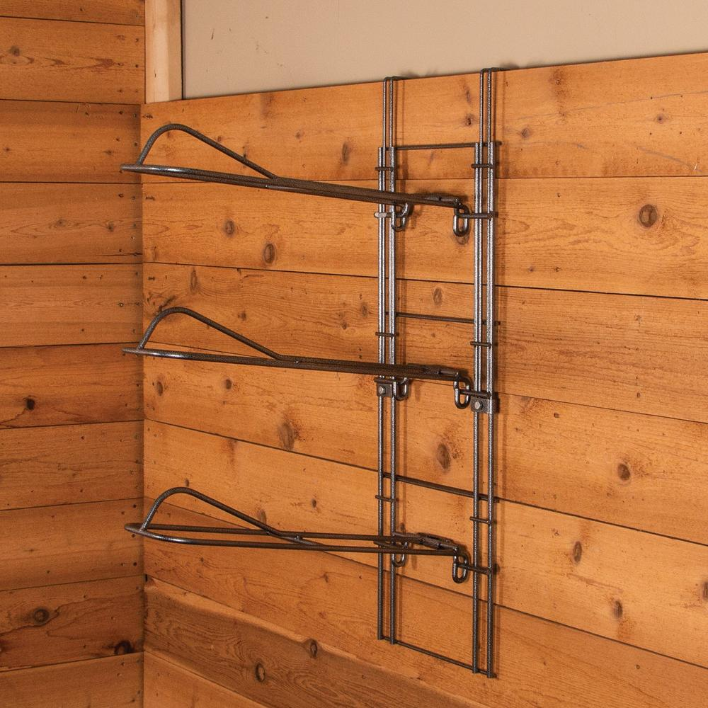 Easy-Up® Pro 3-Tier Drop Down Saddle Rack