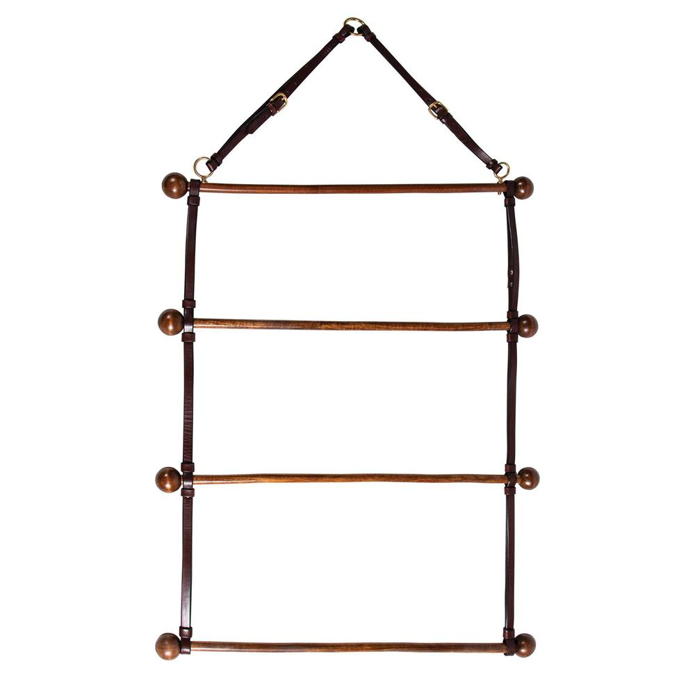 Schneider's Leather and Wood Cooler and Awards Hanger
