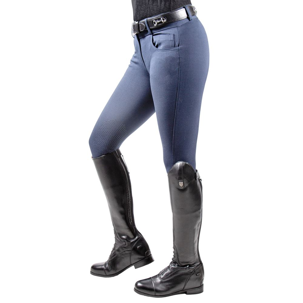 Schneider's Ladies Molly Cotton Knee Patch Breech