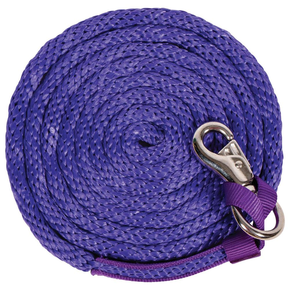 "5/8"" Poly Lead Rope with Bull Snap"