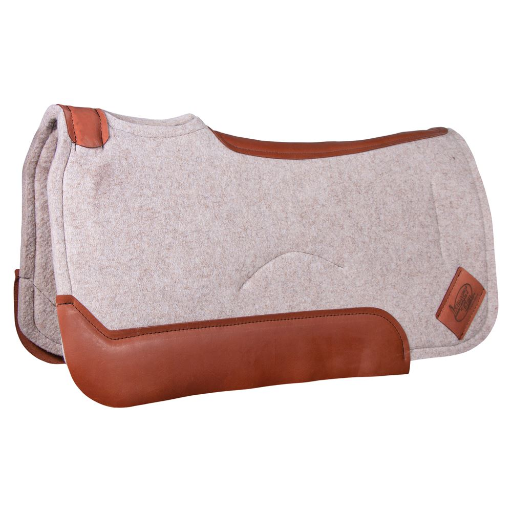 Impact Gel Standard 3/4 Contour Saddle Pad Tan
