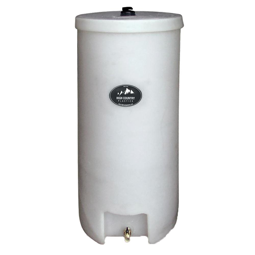 HIGH COUNTRY 35GAL ROUND BARREL WATER CADDY