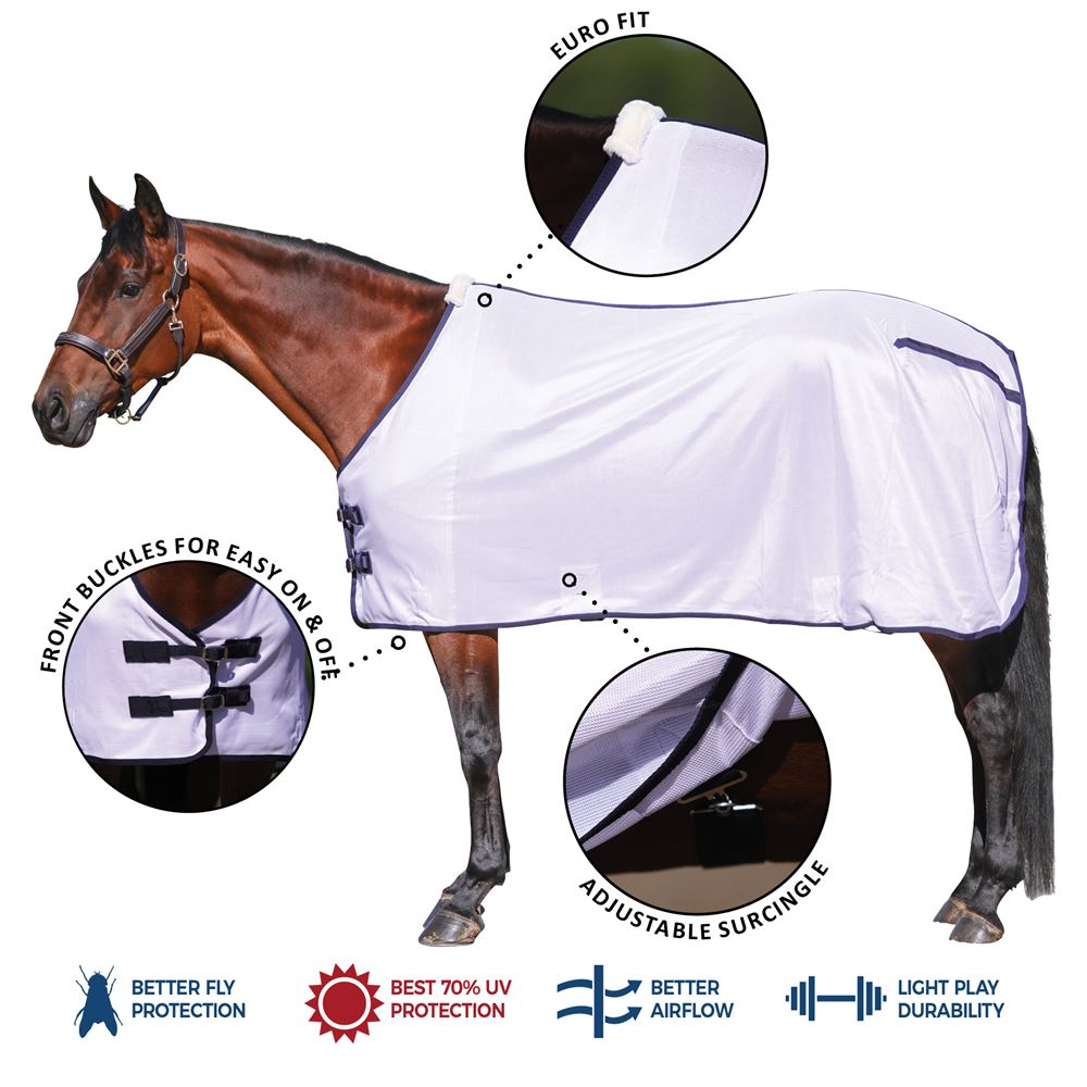 Dura-Tech® Soft Interlock Stable Fly Sheet