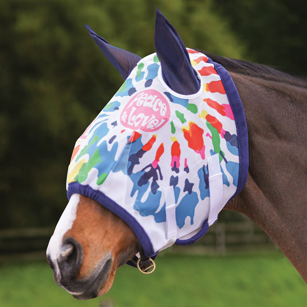 Dura-Tech® Peace Fly Mask with Ears