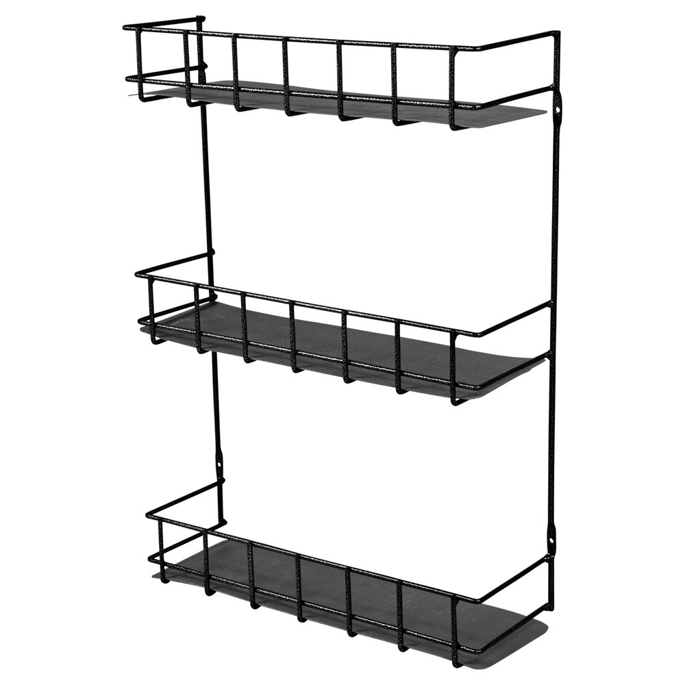 Easy-Up® 3 Tier Wire Basket Rack