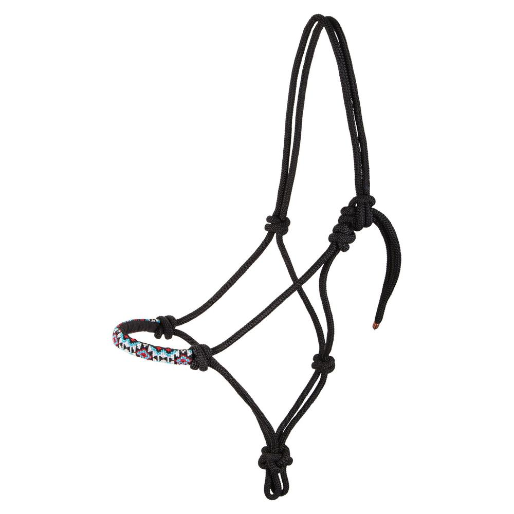 Dura-Tech® Beaded Rope Halter with Lead