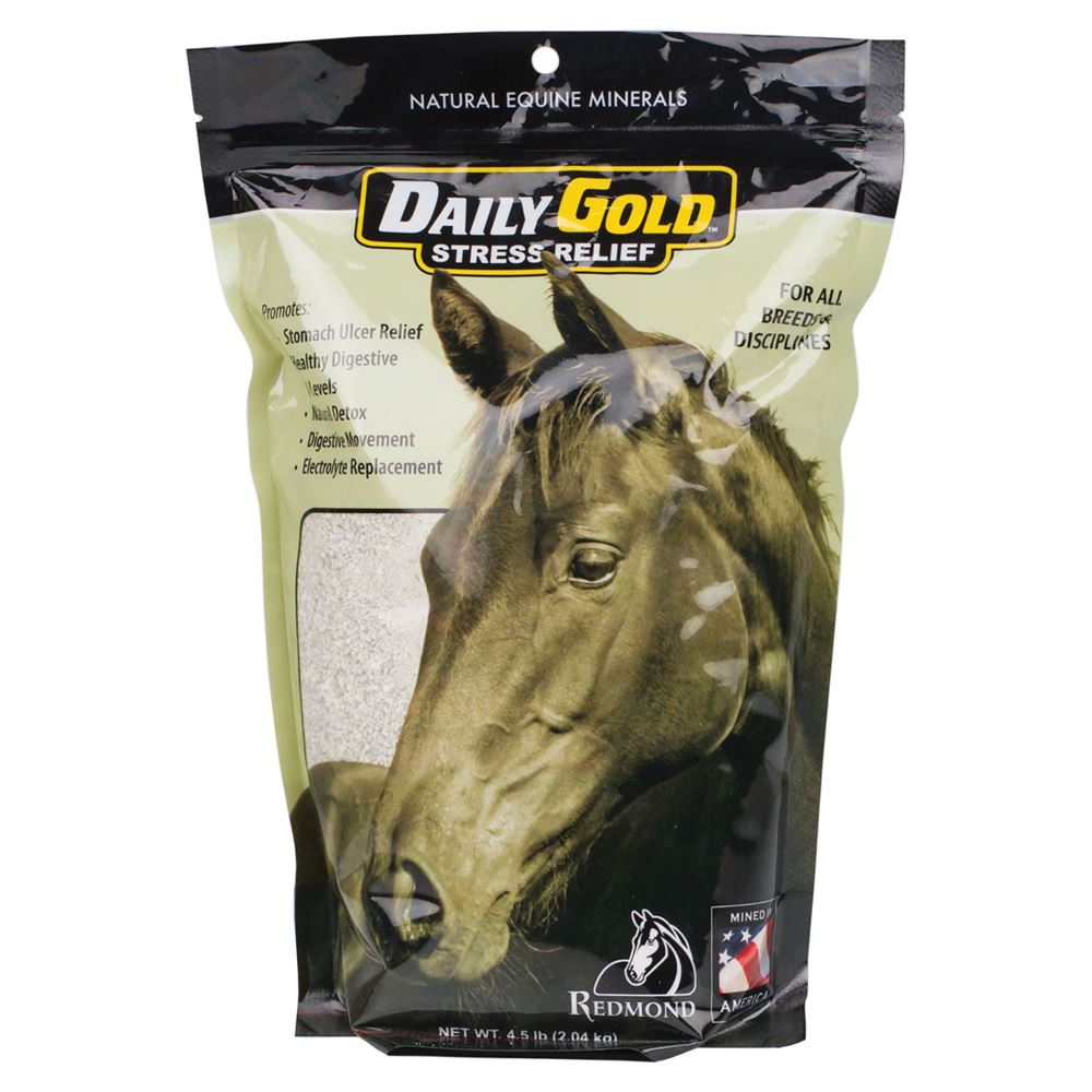 Daily Gold Stress Relief Supplement for Horses 4.5 lb
