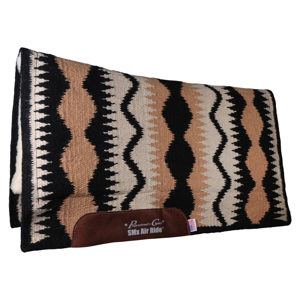 Professional's Choice® Serpentine Comfort-Fit SMx Air Ride Saddle Pad