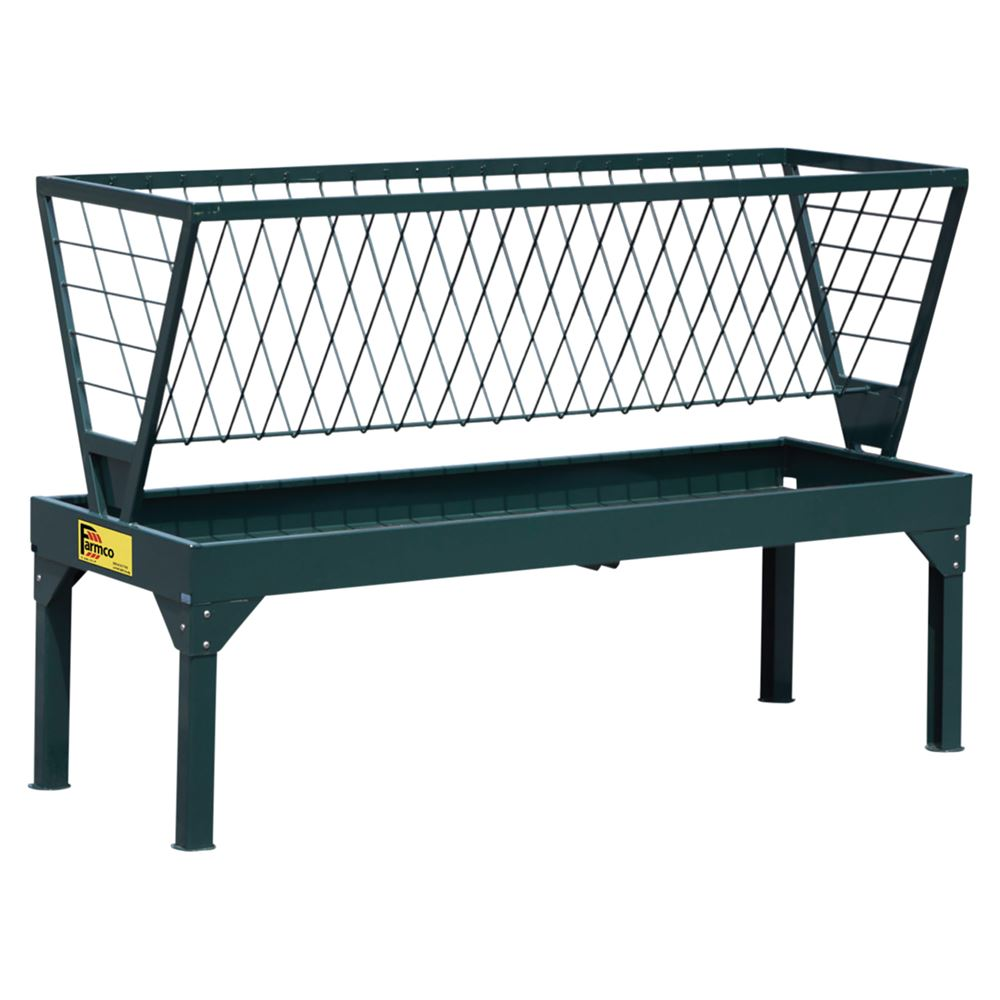 Farmco 32 Series 8ft Long Hay Feeder for Horses