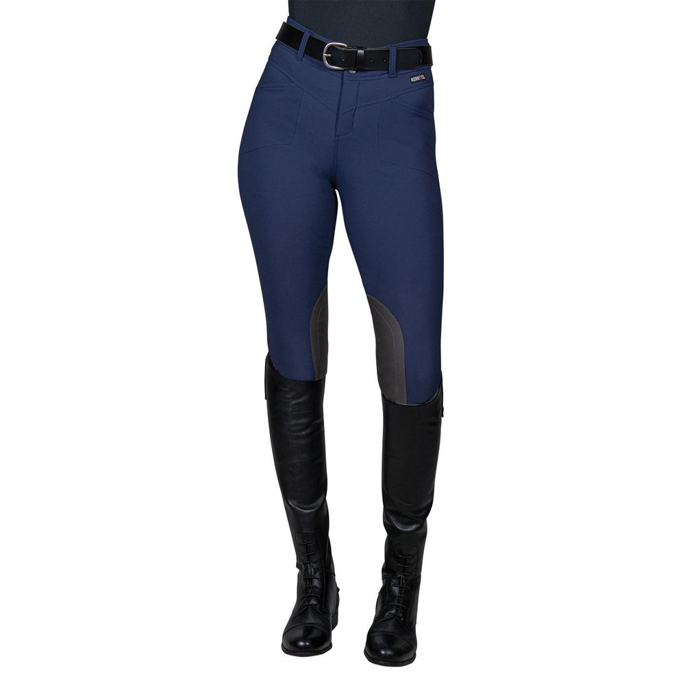 Kerrits® Ladies Crossover II Knee Patch Breech