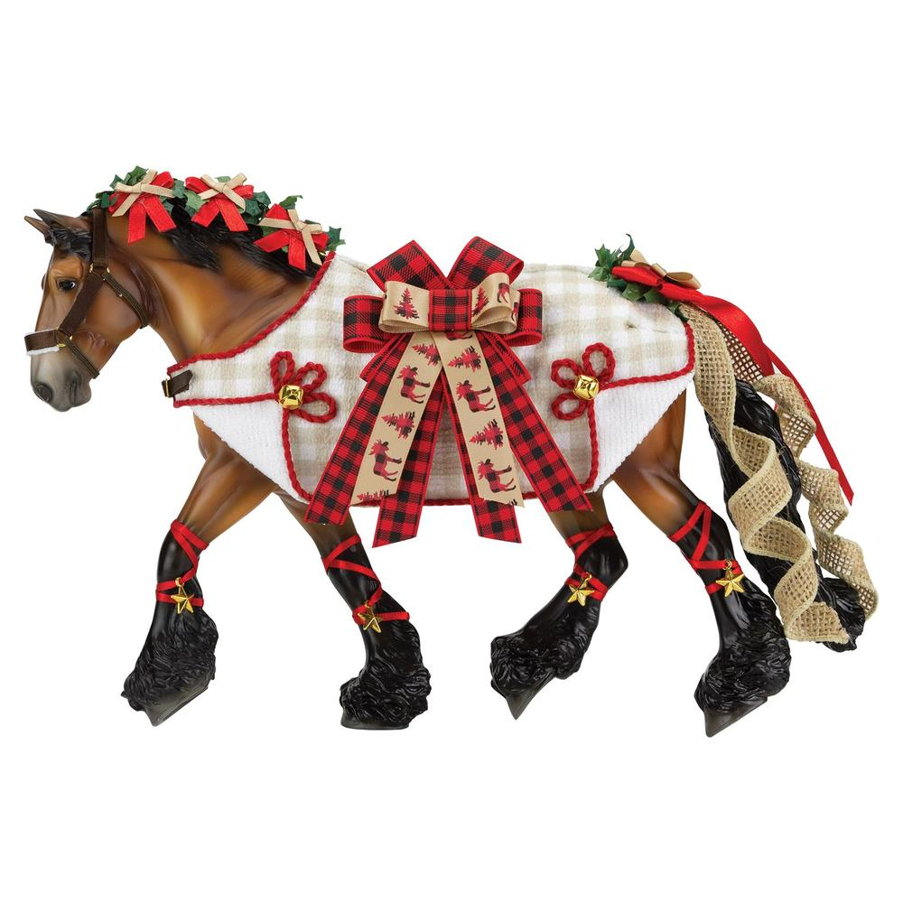 Breyer Yuletide Greetings- 2020 Holiday Horse