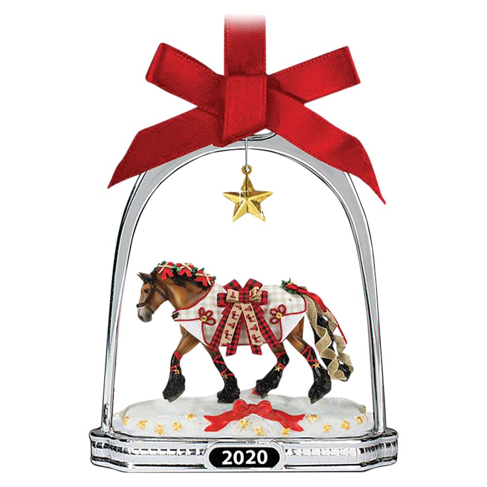 Breyer Yuletide Greetings- 2020 Stirrup Ornament