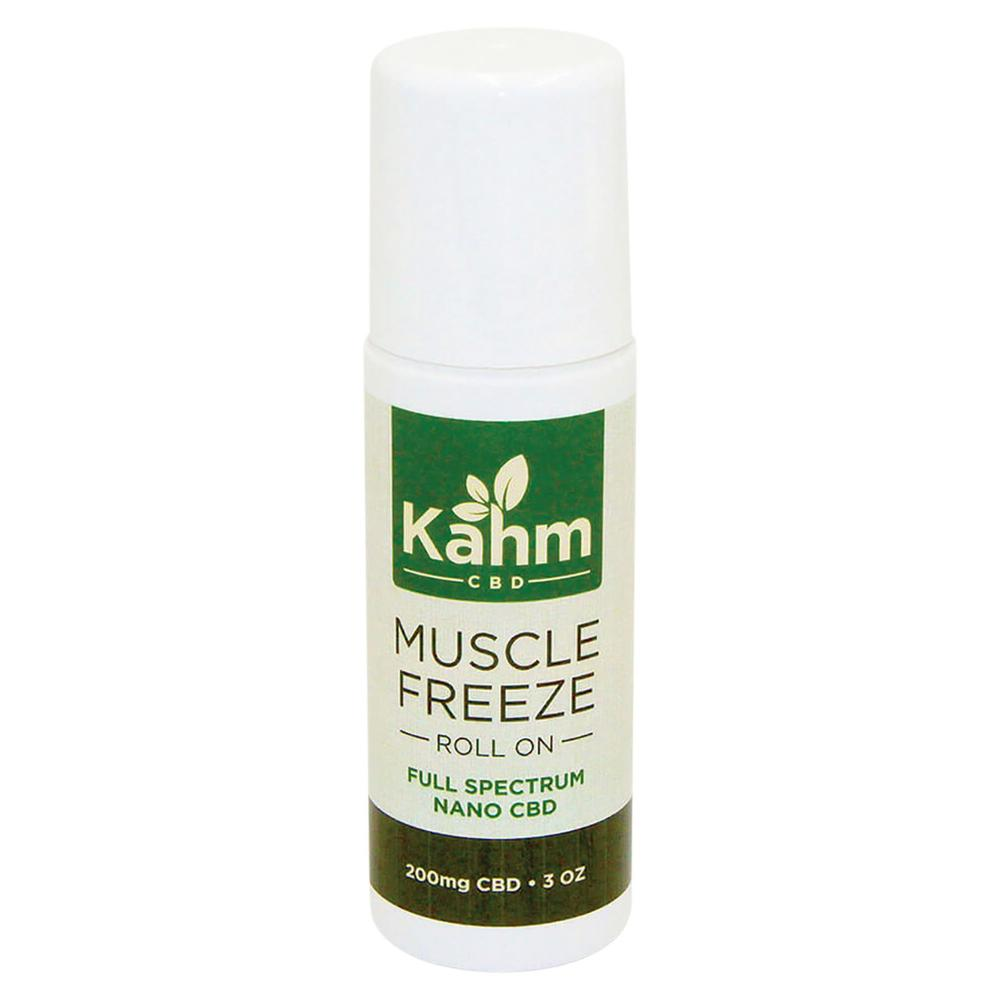 Kahm Topical Muscle Freeze Roll-On 3oz