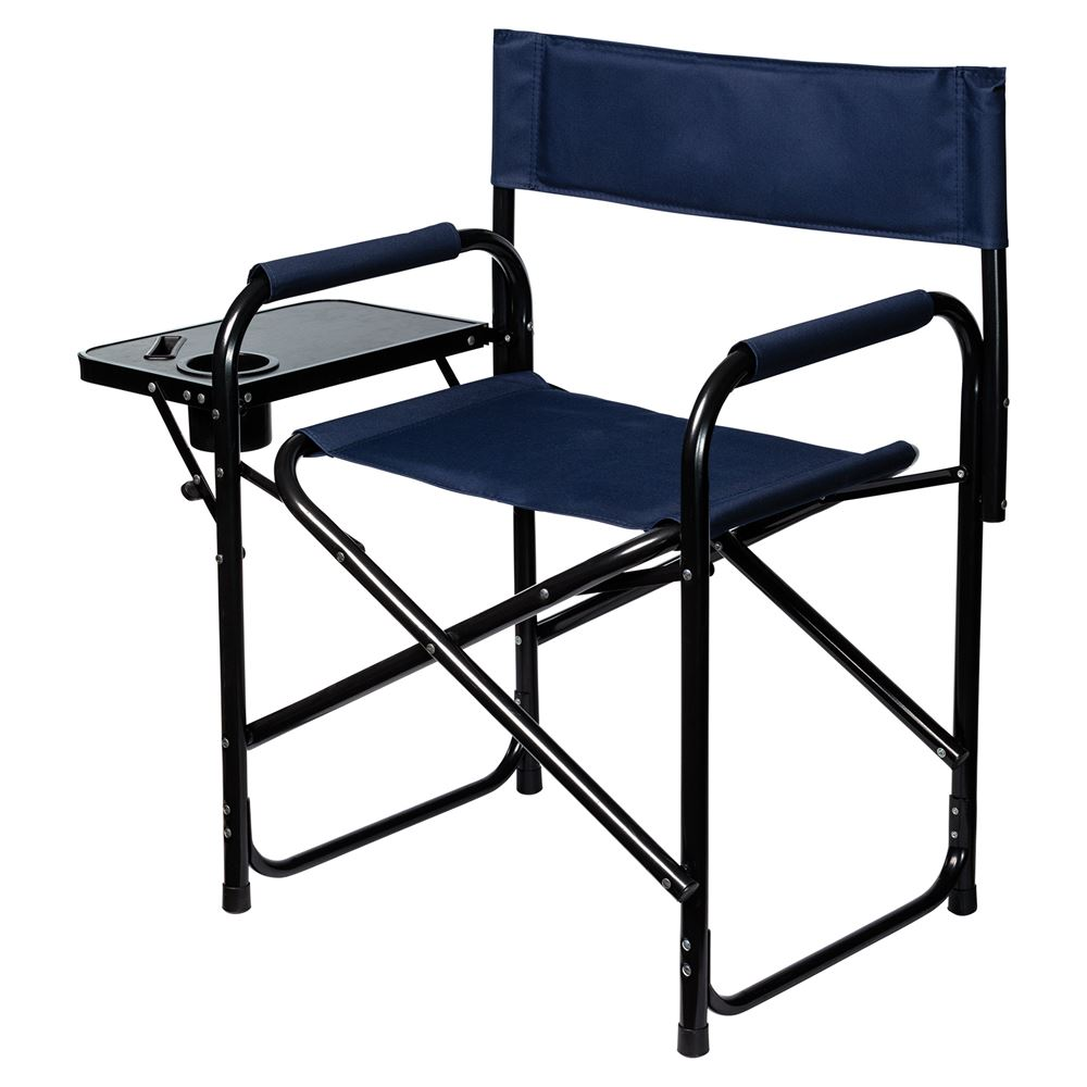 Dura-Tech® Folding Directors Chair with Table